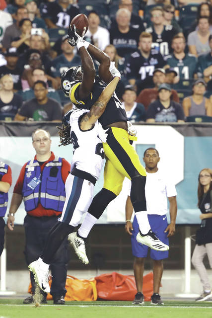 super popular 4ae4f a3319 Quiet Steelers rookie WR James Washington fine letting his ...