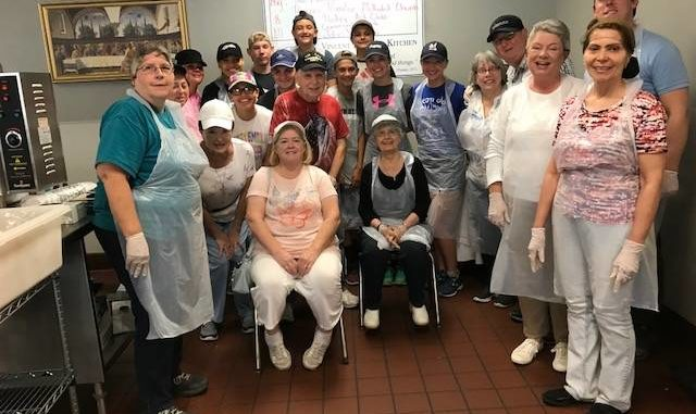 Church Members Serve Lunch At St. Vincent DePaul Soup Kitchen