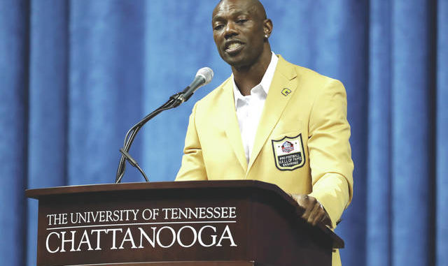3babbdd58 Terrell Owens delivers his Pro Football Hall of Fame speech Saturday in  Chattanooga