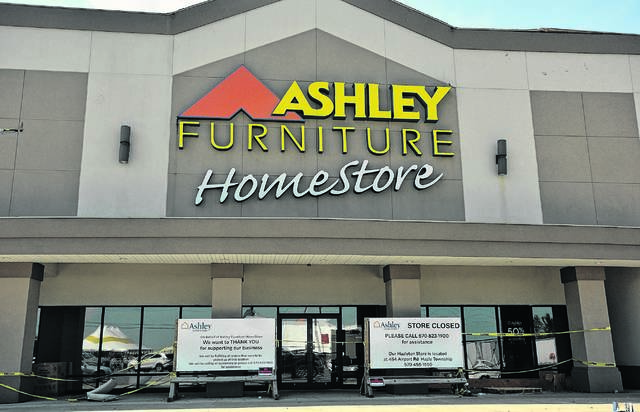 Ashley Furniture Homestore Is Moving To A New Spot On The Wyoming Valley  Mall Property By Possibly Oct. 1 After Juneu0027s Tornado Damaged Its Former  Location ...