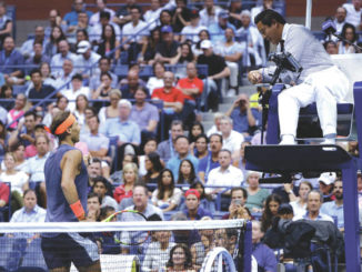 Knee ends Nadal's Open defense; Djokovic vs. del Potro final