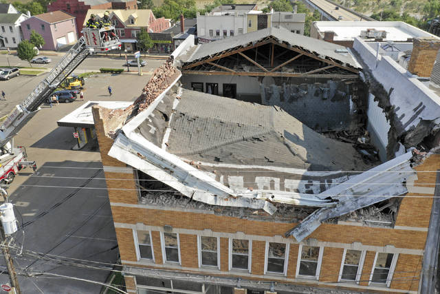 Berwick building collapse