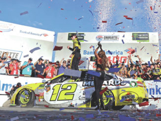 Blaney wins on roval after Johnson crashes out of playoffs