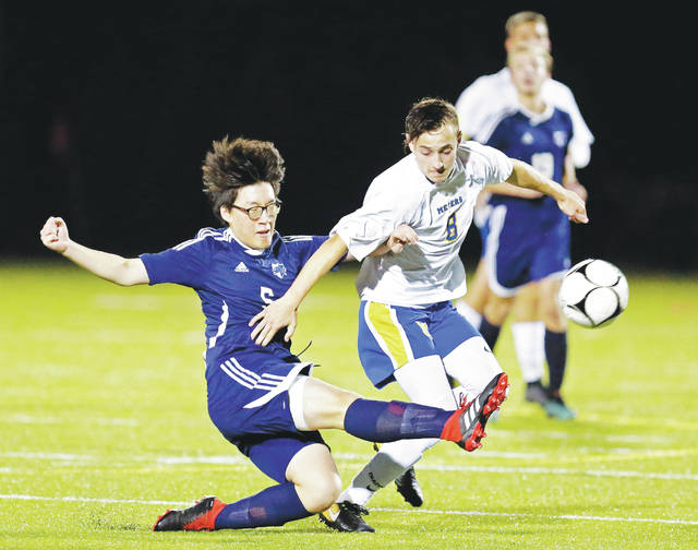 c0c3d47be723 WVC boys soccer  Wyoming Seminary wins undefeated showdown over Meyers