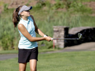 Hanover Area's Kyleen McCance leads WVC at PIAA golf tournament
