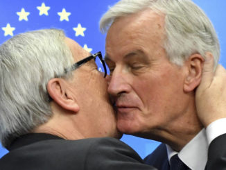 EU seals Brexit deal; May faces a hard sell