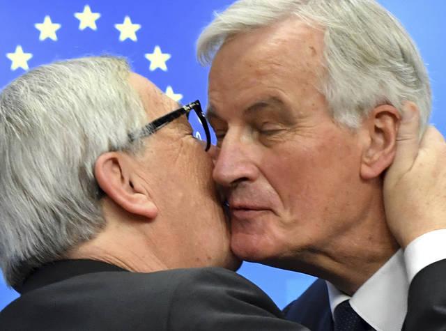 EU seals Brexit deal; May faces a hard sell
