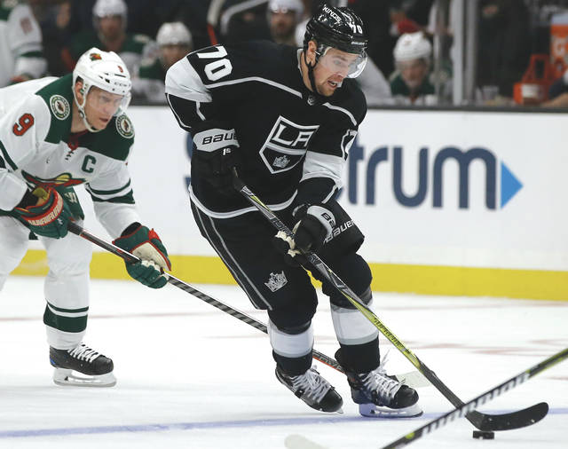 a42b6b09034 The Pittsburgh Penguins traded Carl Hagelin to the Los Angeles Kings for  forward Tanner Pearson (70) on Wednesday.
