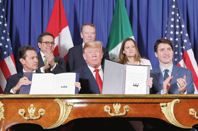 Image result for U.S.-Mexico-Canada Agreement, pictures
