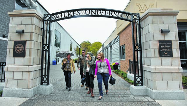 Wilkes University Completes 3 3m Campus Gateway Project Times Leader