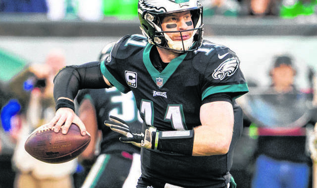 NFL Notebook: Wentz has stress fracture in back; no surgery needed