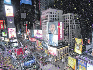 Drone to oversee Times Square revelry