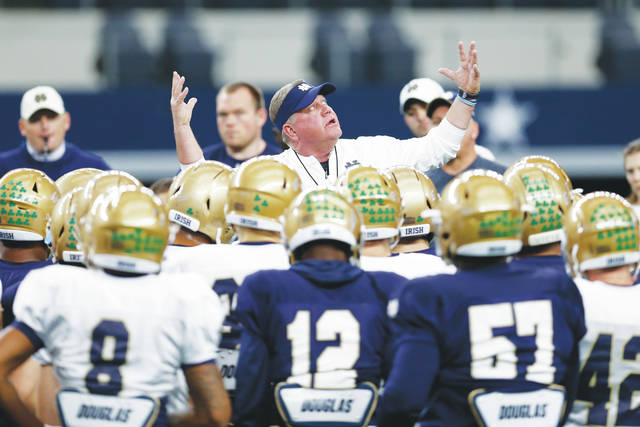 2b30bf1bc5 Irish eyes on the prize  Notre Dame takes on Clemson in CFP semifinal