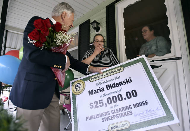 Wilkes-Barre couple wins $25K in Publishers Clearing House