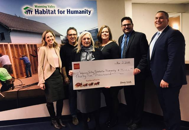 Wells Fargo Donates 35 000 To Habitat For Humanity Times Leader