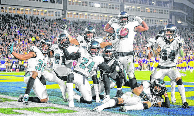 4cd5ec075 Eagles back in familiar role as playoff underdogs