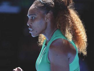 Serena consoles Australian Open foe; Halep next