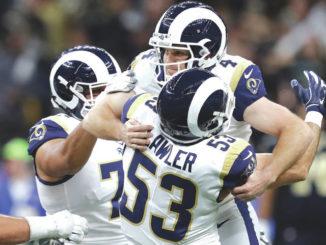 Greg Zuerlein's 57-yard field goal sends Rams to Super Bowl