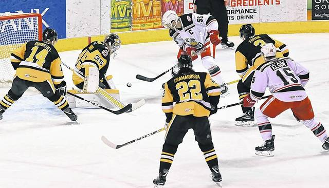 2e2fc3ef49d Joseph Cramarossa s craftiness in the shootout gives WBS Pens a 3-2 win