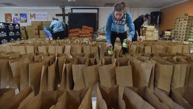 Keystone Mission In Wilkes Barre Distributes Food To 425