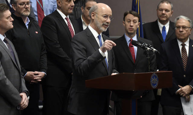 Wolf's plan to restore Pa 's infrastructure dependent on gas