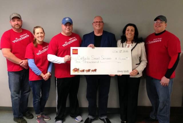 Wells Fargo Foundation Donates To St Vincent Depaul Kitchen Times Leader