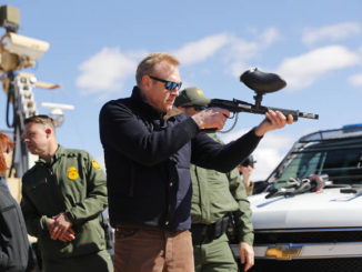 Secretary of Defense tours border areas to see where billions may go