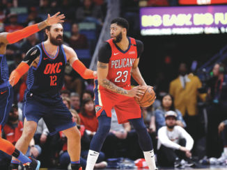 Anthony Davis finds himself in spotlight at All-Star Game