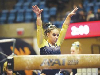 College Corner: Berwick's Koshinski enters elite company for West Virginia gymnastics