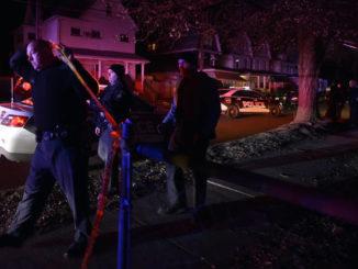 Dagobert Street home struck by gunfire; no injuries reported