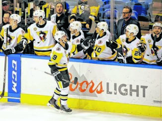 WBS Penguins in unfamiliar territory as postseason looms