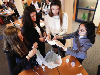 High-tech sandbags and bad-driver detectors: Students do battle in STEM contest