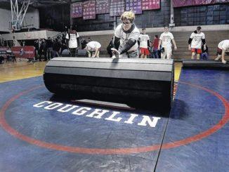 Coughlin wrestling wins final meet