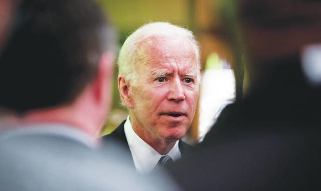Joe Biden stops just short of saying he's running in 2020