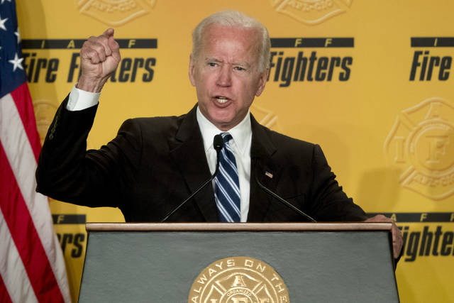 Second woman says ex-VP Biden touched her inappropriately