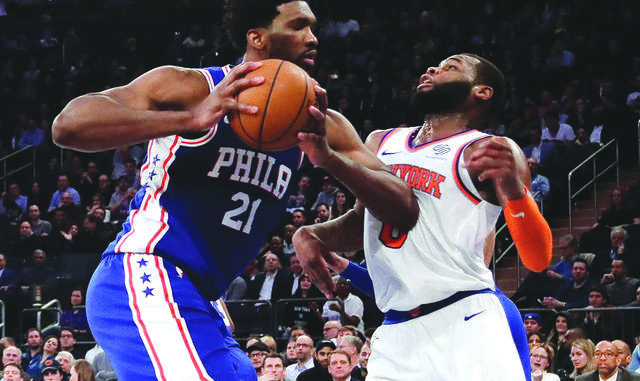 1cbd6f2c2 Marcus Hayes  Joel Embiid s knee makes judging Sixers coach Brett Brown  impossible
