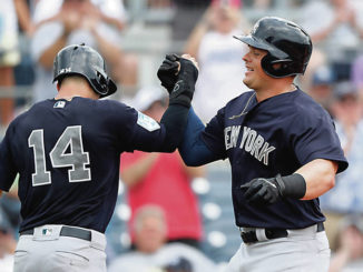 Yankees' first baseman Luke Voit looking to secure starting gig