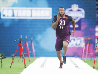 Penn State's Miles Sanders making his own mark at NFL combine