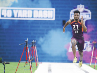 Oruwariye caps off strong showing at NFL combine for Nittany Lions