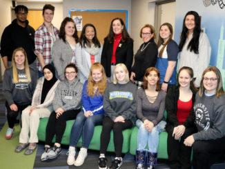 Sen. Lisa Baker lauds social work students at Misericordia University