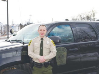 New Luzerne County Game Warden receives an appropriate welcome
