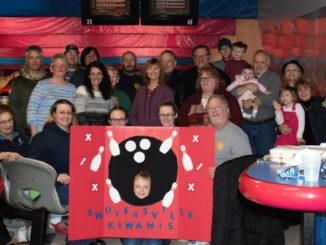 Swoyersville Kiwanis Club enjoys outing at Chacko's Bowling Center