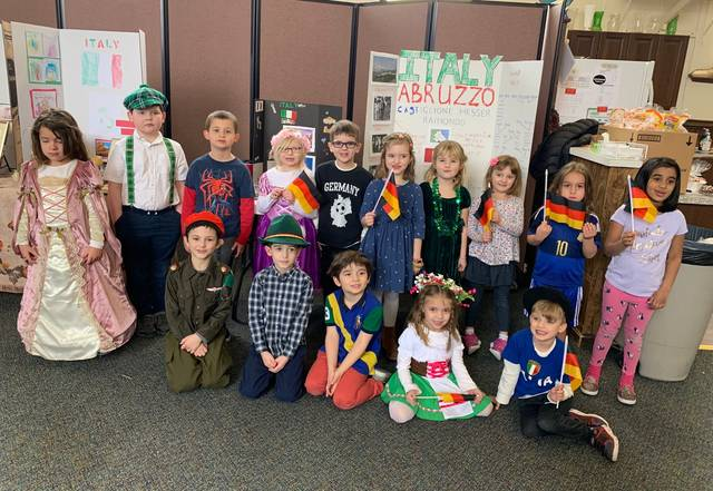 Students at Wyoming Valley Montessori School host Heritage Day
