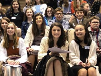 St. Jude's students participate in Junior Academy of Science competition