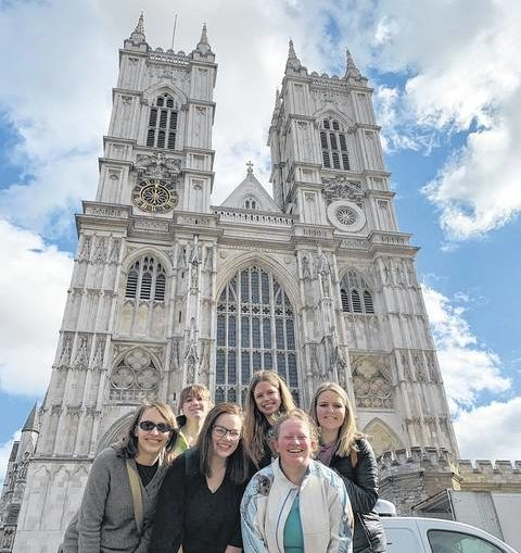 Penn State honors students visit London