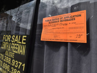 Application in for liquor license transfer at Bart & Urby's