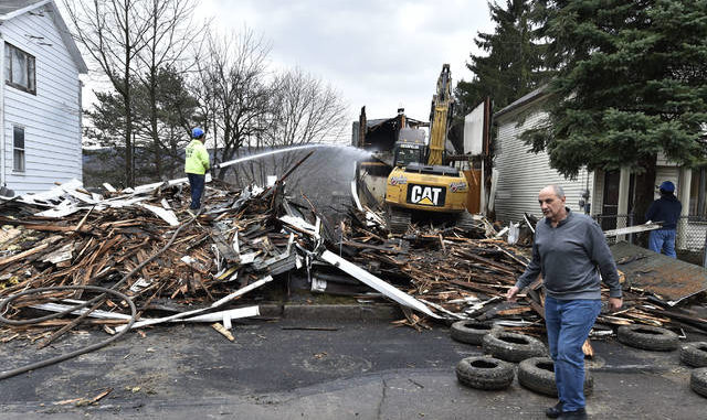 Murray Street demolitions remove eyesores in Wilkes-Barre neighborhood