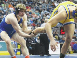 2A wrestling: Erickson earns breakthrough for Hanover Area at states