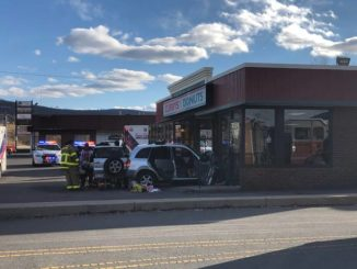 Car crashes into Curry Donuts, Two injured