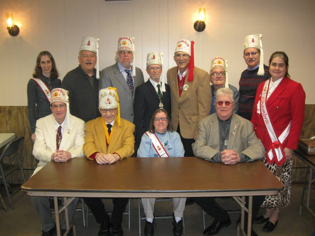 Patrick Wiliams inducted as new member as Order of Alhambra